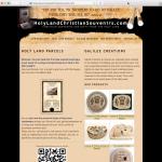 Our good old website holylandchristiansouvenirs.com
